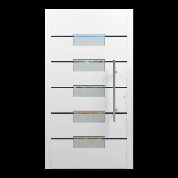 Drzwi zewnętrzne aluminiowe wzór-NT-50N