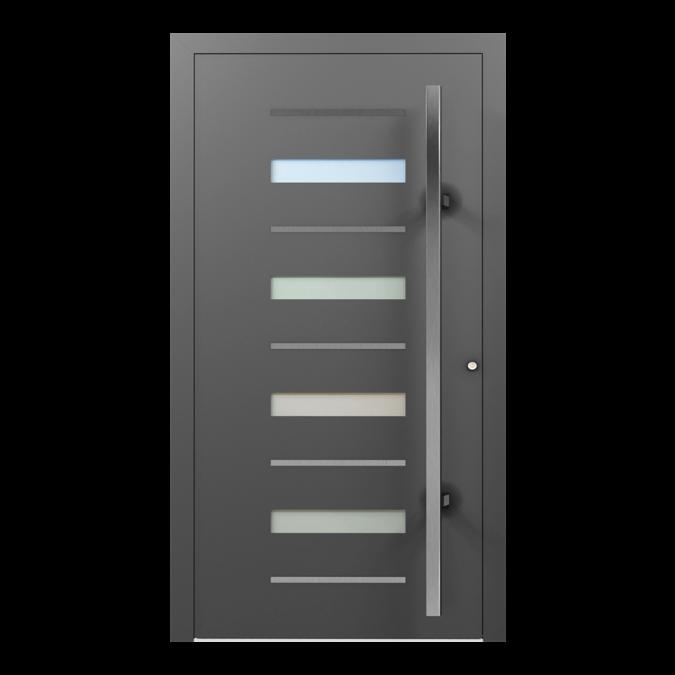 Drzwi zewnętrzne aluminiowe wzór-NT-52N