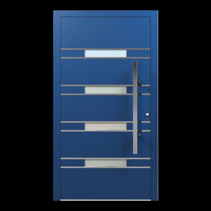 Drzwi zewnętrzne aluminiowe wzór-NT-53N