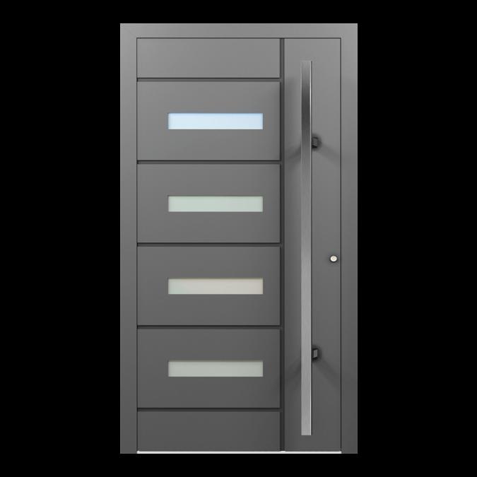 Drzwi zewnętrzne aluminiowe wzór-NT-54N