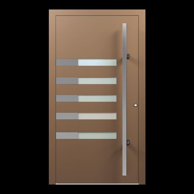 Drzwi zewnętrzne aluminiowe wzór-NT-55N