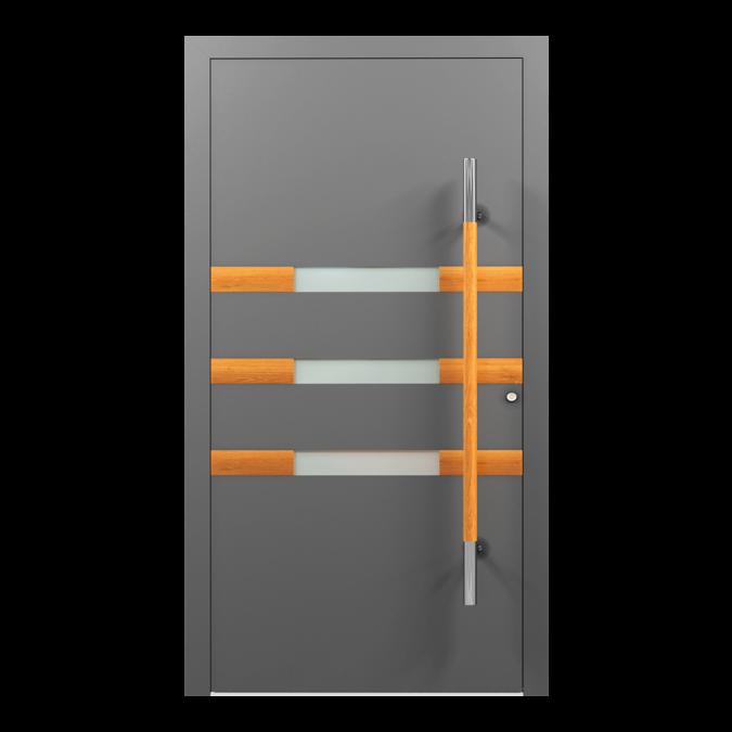 Drzwi zewnętrzne aluminiowe wzór-NT-56N