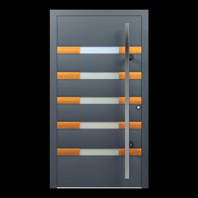 Drzwi zewnętrzne aluminiowe wzór-NT-57N