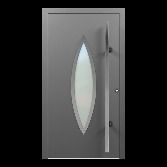 Drzwi zewnętrzne aluminiowe wzór-NT-58N