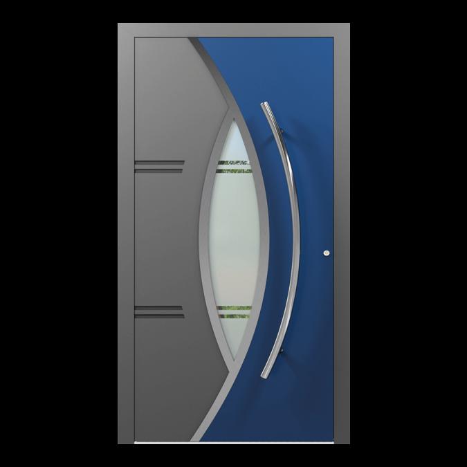 Drzwi zewnętrzne aluminiowe wzór-NT-60N