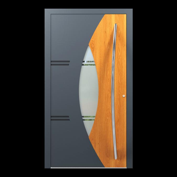 Drzwi zewnętrzne aluminiowe wzór-NT-62N