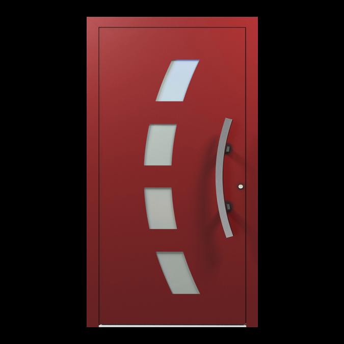 Drzwi zewnętrzne aluminiowe wzór-NT-63N