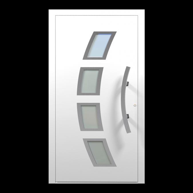 Drzwi zewnętrzne aluminiowe wzór-NT-64N