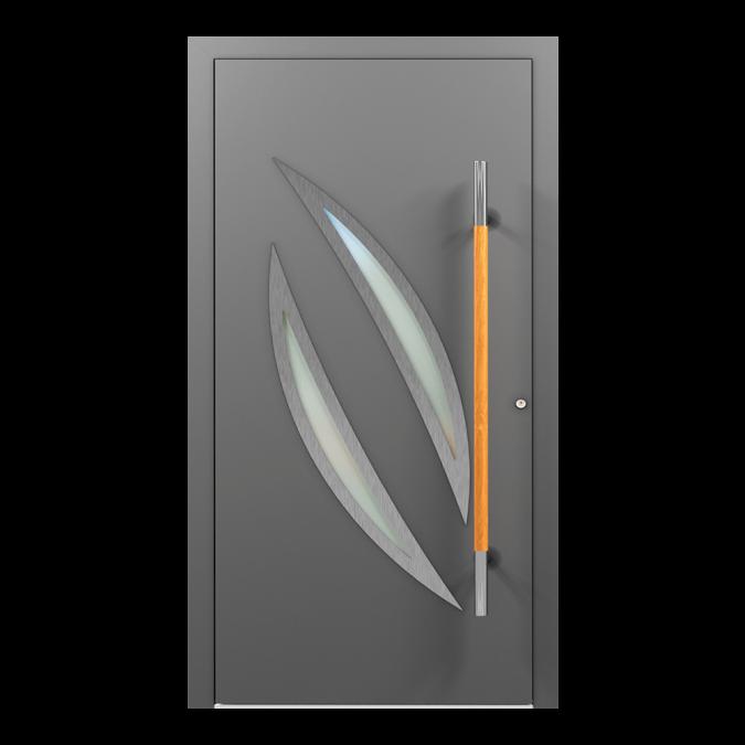 Drzwi zewnętrzne aluminiowe wzór-NT-66N