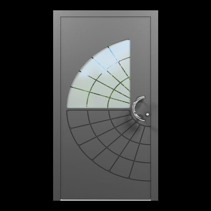 Drzwi zewnętrzne aluminiowe wzór-NT-67N