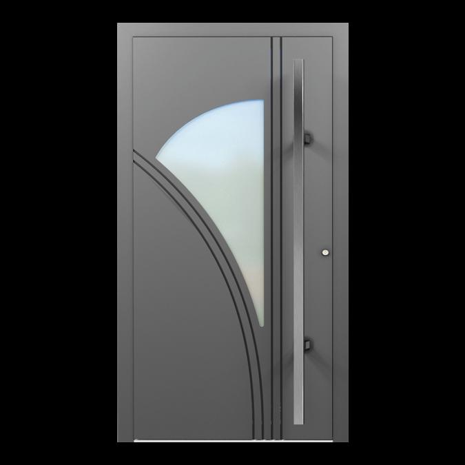 Drzwi zewnętrzne aluminiowe wzór-NT-68N