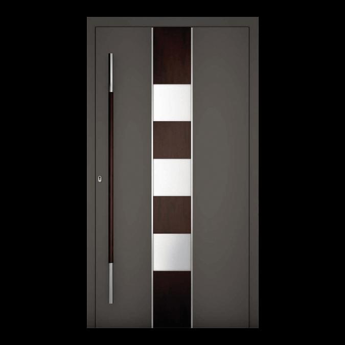 Drzwi zewnętrzne aluminiowe wzór-NT-69N