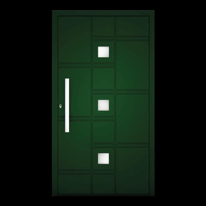 Drzwi zewnętrzne aluminiowe wzór-NT-75N