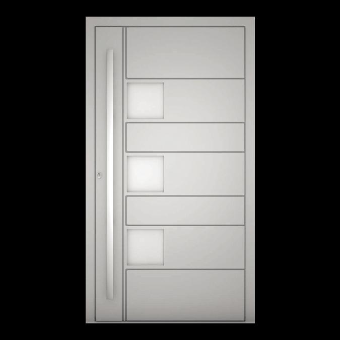 Drzwi zewnętrzne aluminiowe wzór-NT-76N