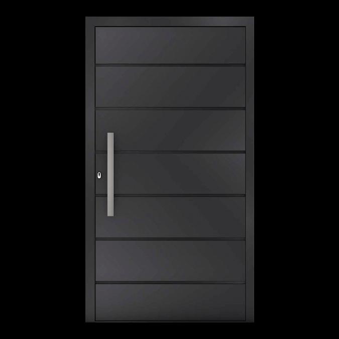Drzwi zewnętrzne aluminiowe wzór-NT-77N