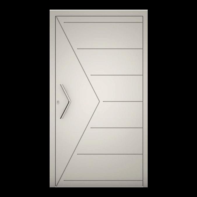 Drzwi zewnętrzne aluminiowe wzór-NT-78N