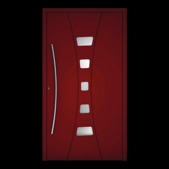 Drzwi zewnętrzne aluminiowe wzór-NT-80N