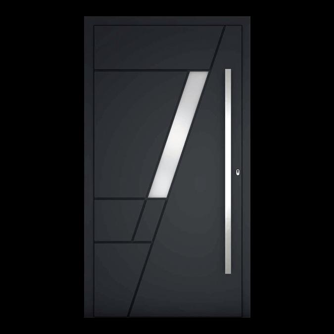 Drzwi zewnętrzne aluminiowe wzór-NT-81N