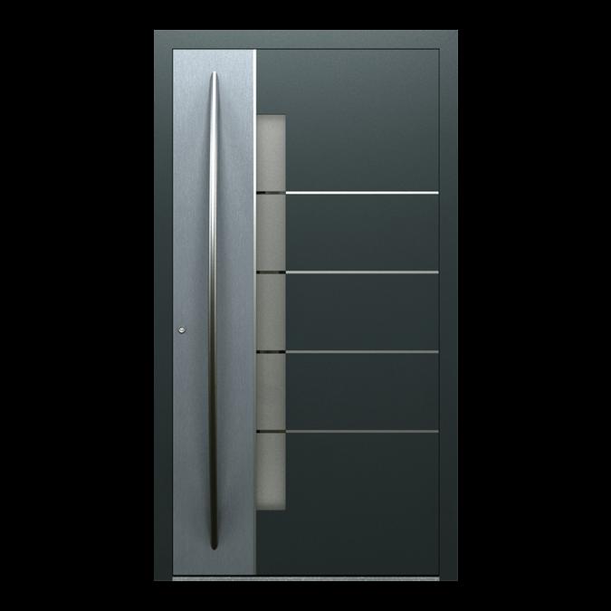 Drzwi zewnętrzne aluminiowe wzór-NT-82N
