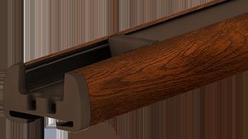 Orzech - kolor profilu rolety plisowanej