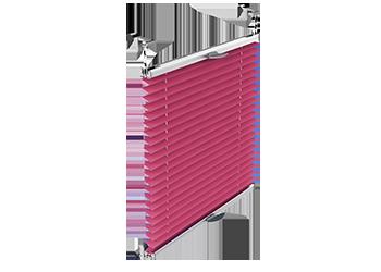 Rolety plisowane bezinwazyjne montowane na skrzydle okna