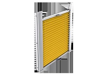 Rolety plisowane do okien dachowych