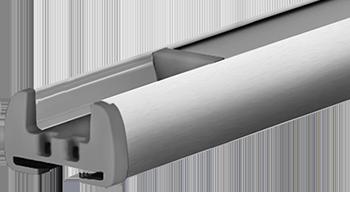 Srebrny anodowany - kolor profilu rolety plisowanej