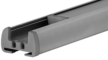 Srebrny RAL-9006 - kolor profilu rolety plisowanej