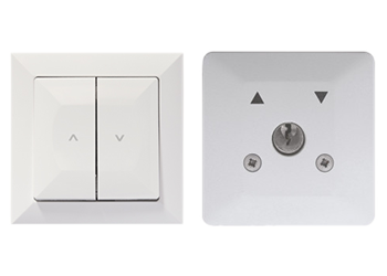 Przewodowe sterowanie roletą zewnętrzną poprzez przełączniki naścienne