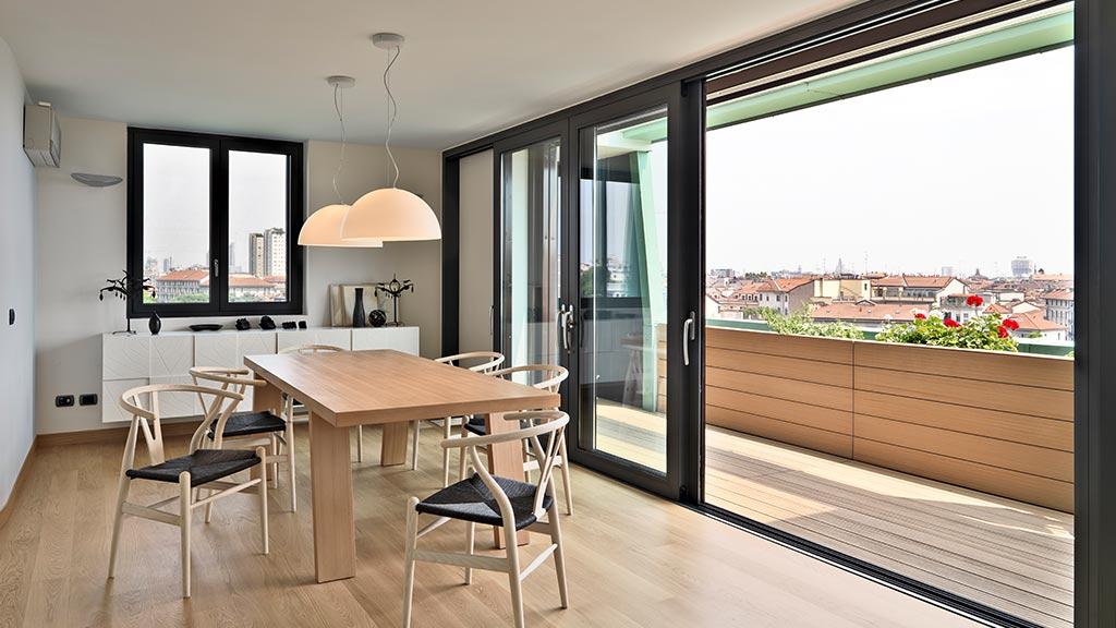 Okna i drzwi przesuwne aluminiowe
