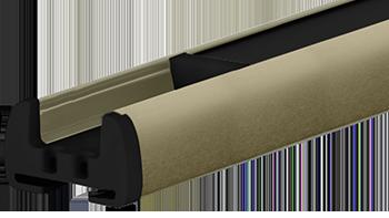 Szamański anodowany - kolor profilu rolety plisowanej