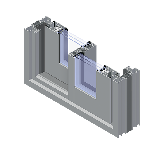 Systemy przesuwne aluminiowe Visoglide