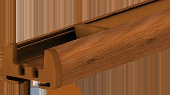 Winchester - kolor profilu rolety plisowanej