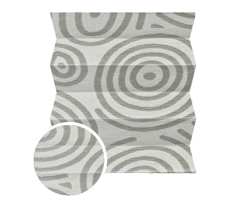 Yuki 034 - kolor materiału rolety plisowanej