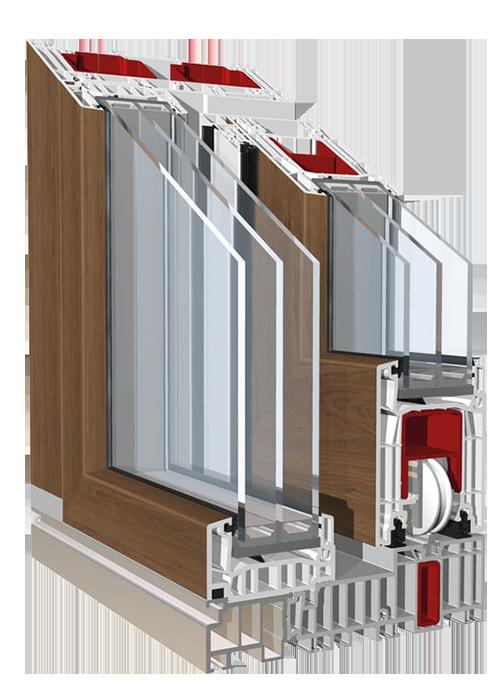 Drzwi tarasowe HST PremiDoor 76 Lux