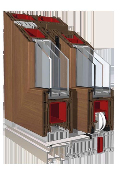 Drzwi tarasowe podnoszno-przesuwne HST PremiDoor 76