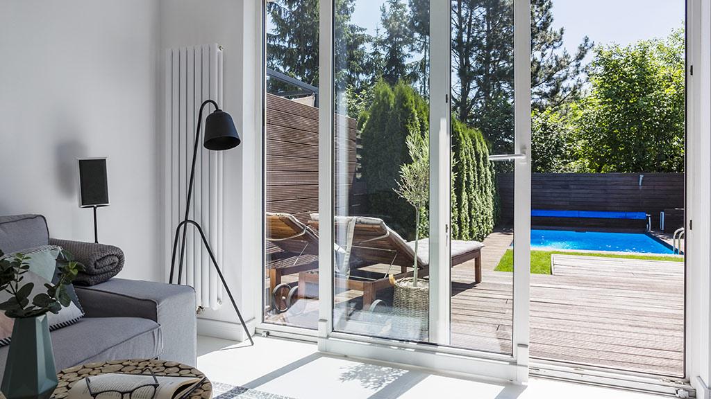 Przesuwne okna tarasowe