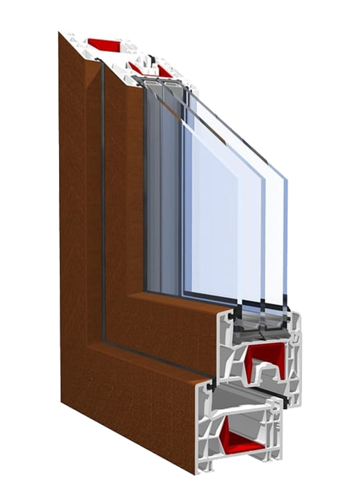 Okno uchylno-przesuwne PSK KBE 76AD