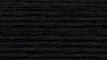 Jet black STYLO CC+ - kolor okleiny bramy segmentowej