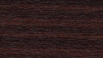 Mahoń - kolor okleiny bramy segmentowej