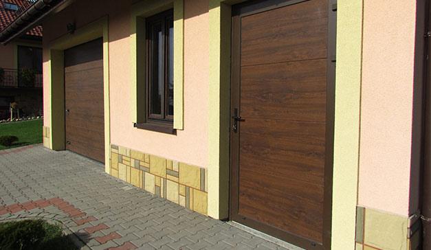 Drzwi boczne garażowe