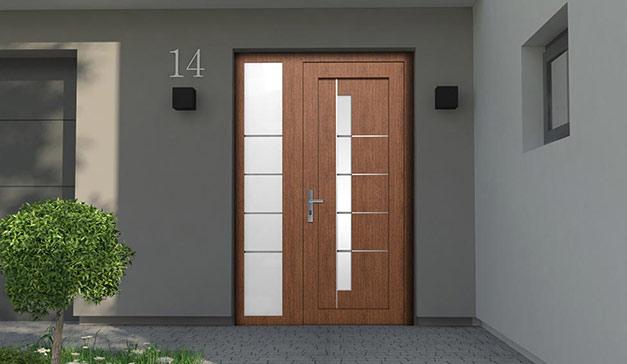 Drzwi zewnętrze PVC