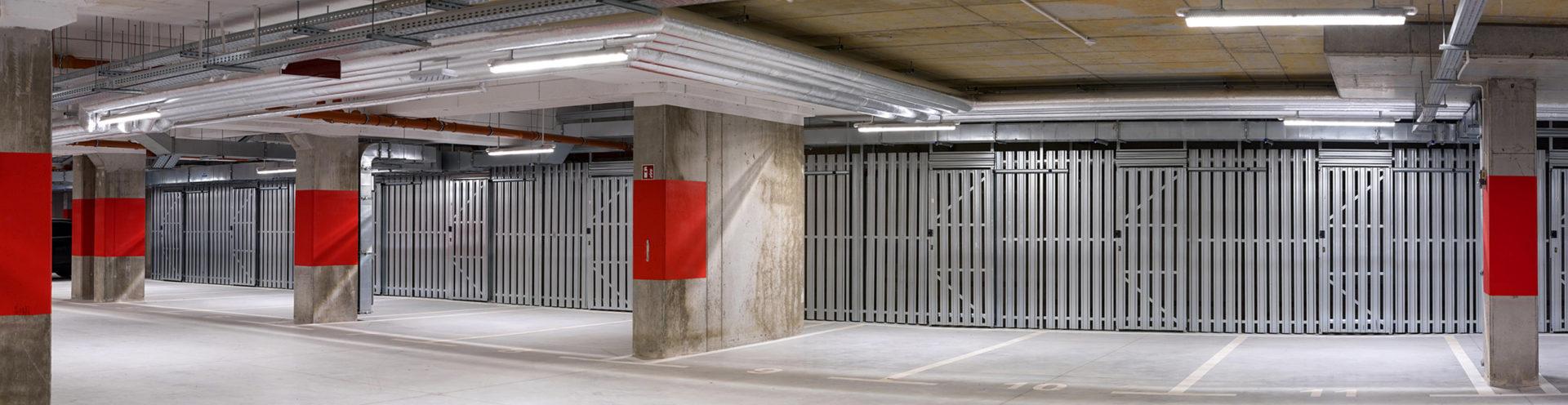 Abstellräume für Mehrfamilienhäuser