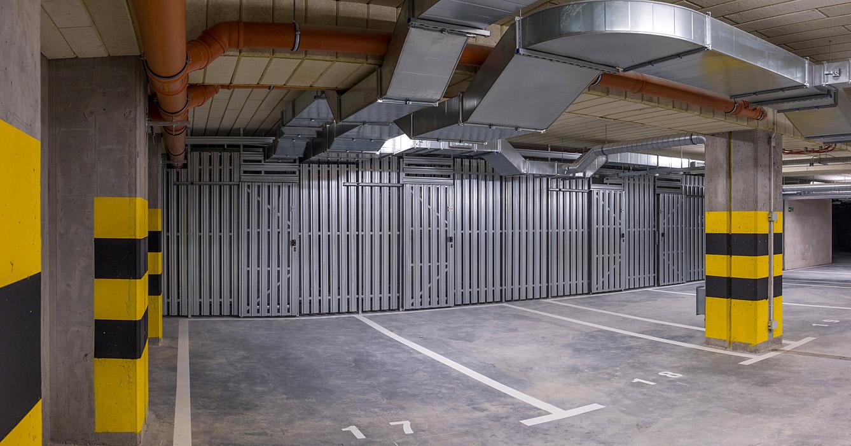 Abstellräume mit Schiebetür