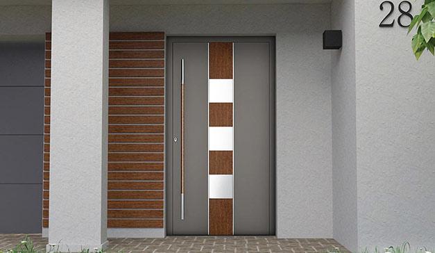 Aluminium-Außentüren