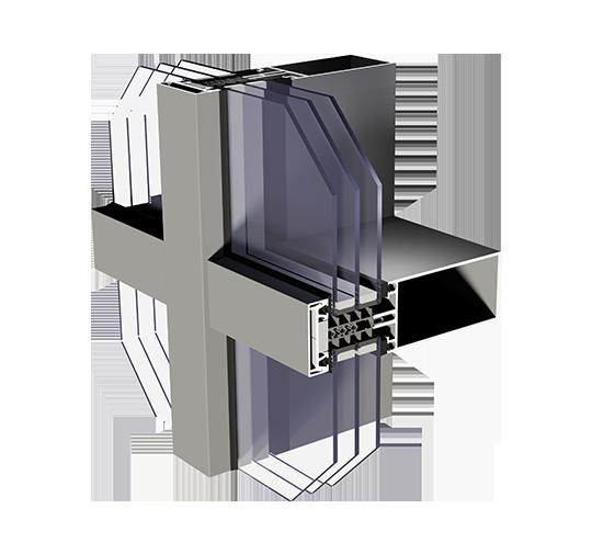 Aluminiumfassaden MC Passiv