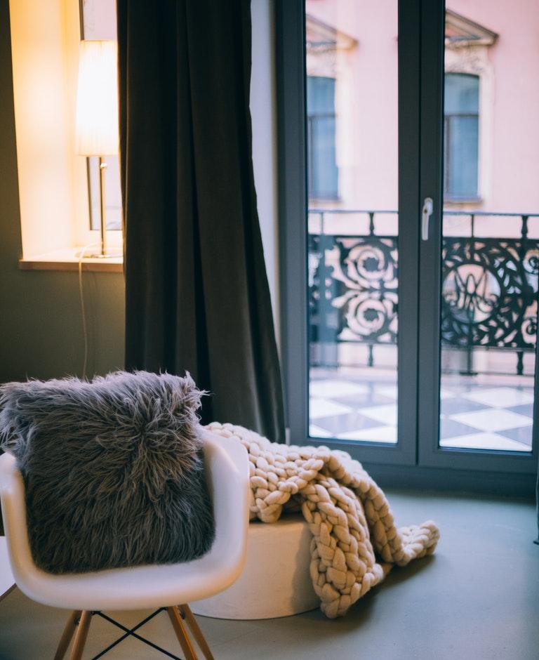 Aluminium Balkonfenster