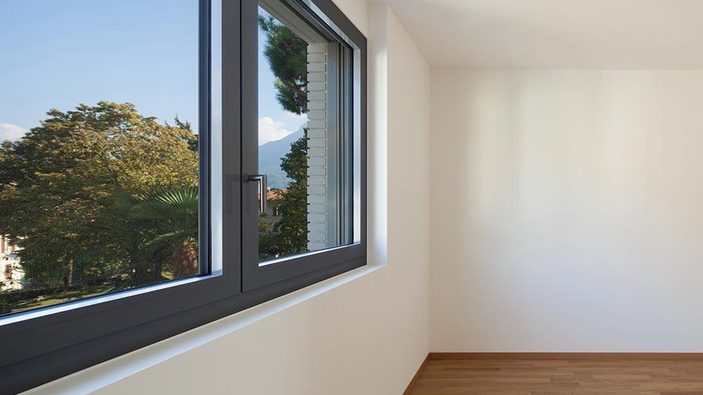 Aluminiumfenster mit hoher Wärmedämmung