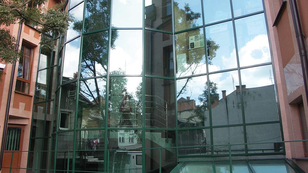 Aluminiumglasfassaden