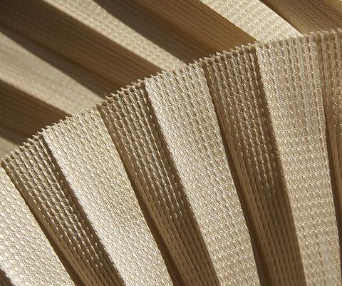Bamboo P602 - Stofffarben Plissee-Rollos